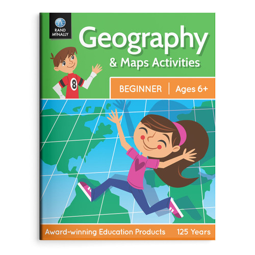 Geography & Maps Activities, Beginner | Ages 6+