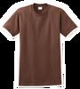 G2000B Dark Chocolate Youth T-Shirt Short Sleeve by Gildan