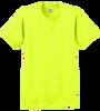 G2000B Safety Yellow Youth T-Shirt Short Sleeve by Gildan
