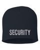 Navy knit cap 8 inch with Security in Tear Drop Thread
