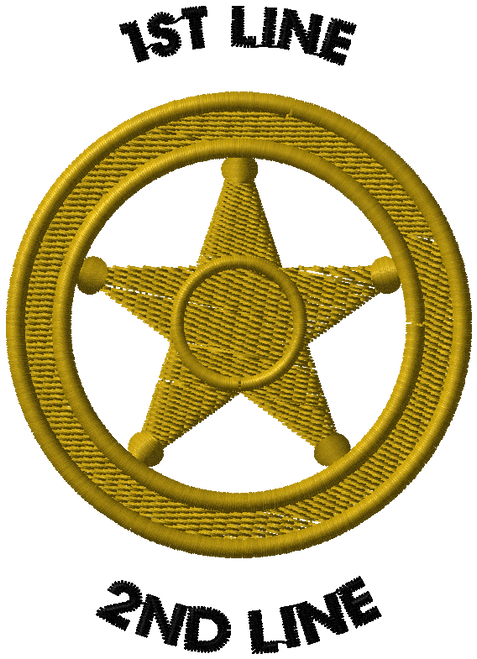 DECO-STK-EMB-LE-BADGE- 5PT-STAR-CIRCLE-GOLD-1