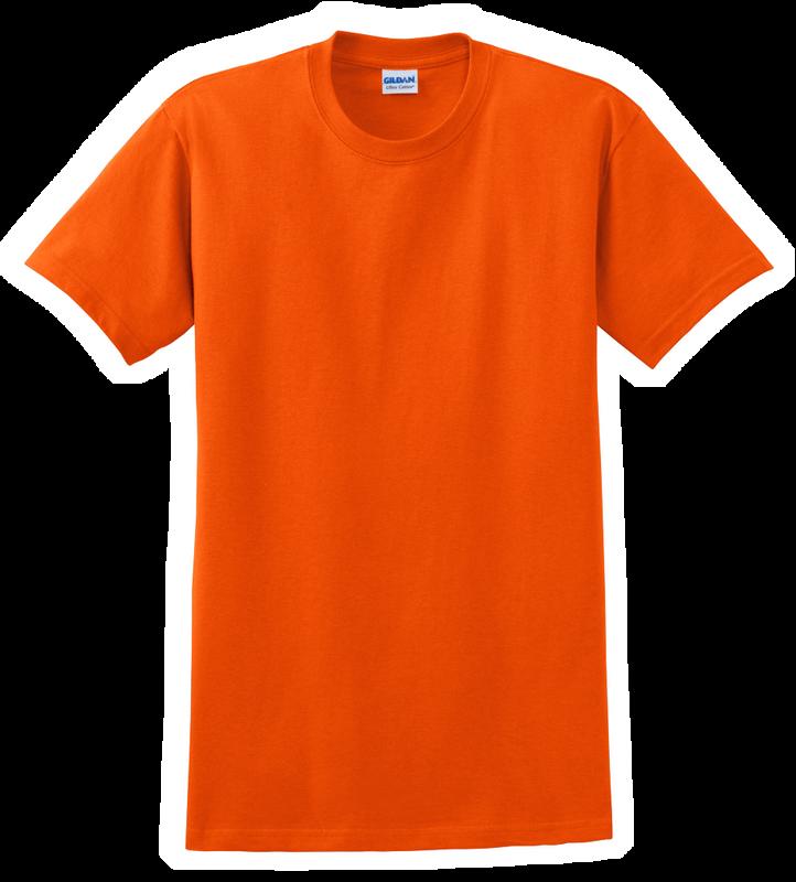 G2000B Orange Youth T-Shirt Short Sleeve by Gildan