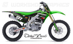 KX250F MX Graphics