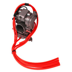 2T - Free Flow Carb Vent Kit Red