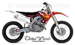 Honda CRF Custom Graphics Kit