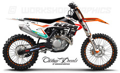 KTM Race Graphics