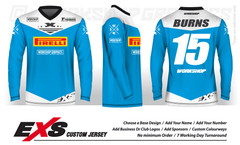 Status Light Blue - EXS Race Jersey