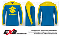 Custom Sublimated Vintage Race Jerseys