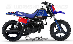 BluCru Yamaha PW50 Graphics Kit