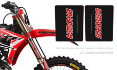 Carbon Fork Wraps - Showa