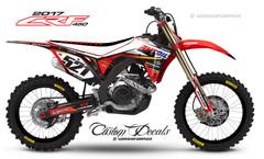 2017 CRF450R Graphics Kit