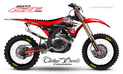 2017 CRF450  Roam- Graphics