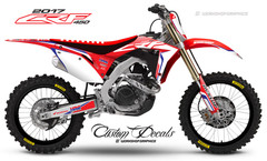2017 CRF450  StockR - Graphics