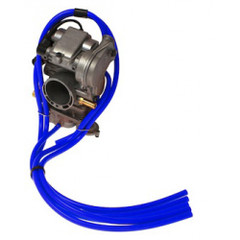 2T - Free Flow Carb Vent Kit Blue