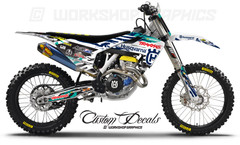 2017 Husq Price FMX Graphics kit