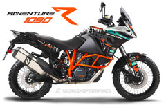 KTM 1090 Adventure Graphics