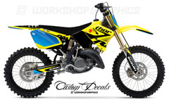RM125-250 Butter MX Graphics