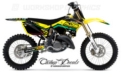 RM125-250 Retro MX Graphics