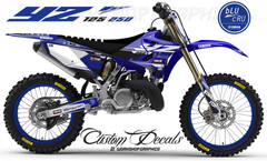 2018 YZ 125 BluCru MX Graphics kit
