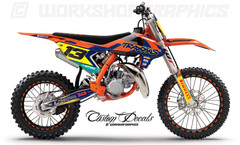 2018 KTM 85 Graphics Kits