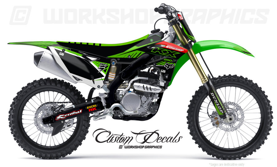 Kawasaki KX250F MX Graphics