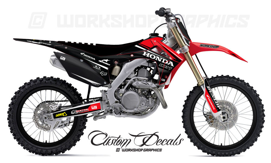 Honda CRF Graphics Kit