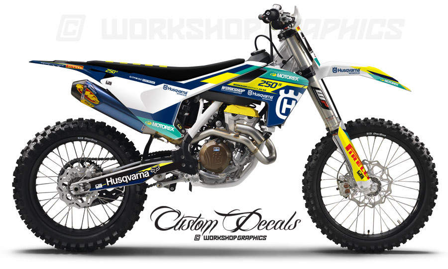 Husqvarna MX Graphics