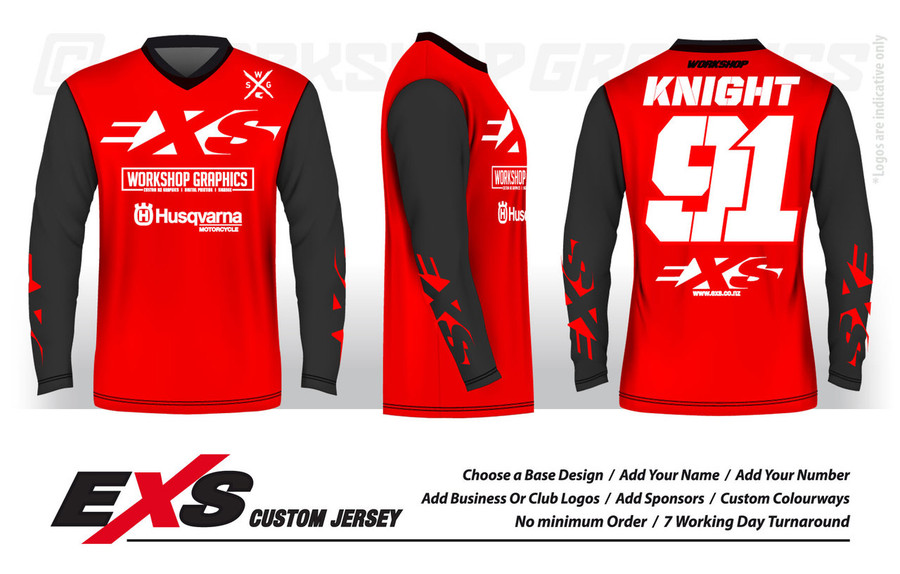 Custom Race Jerseys by EXS Custom Jerseys