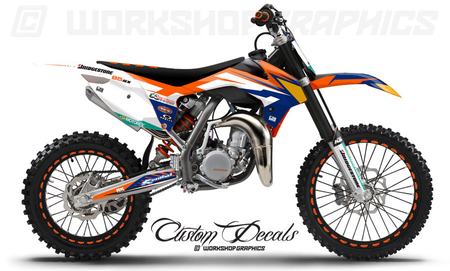 KTM 85 Graphics & Race Numbers