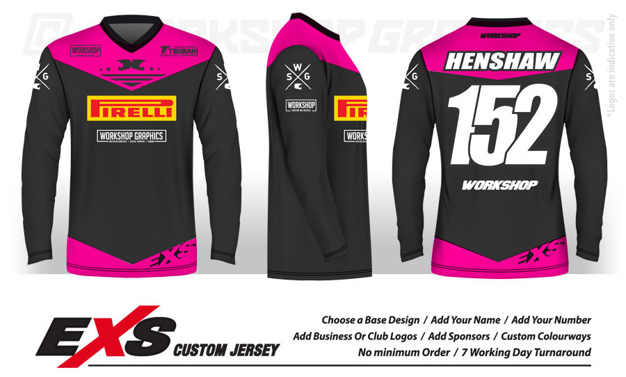 Custom Sublimated Race Jerseys