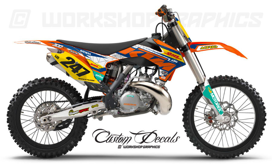 KTM Web - Graphics Kit