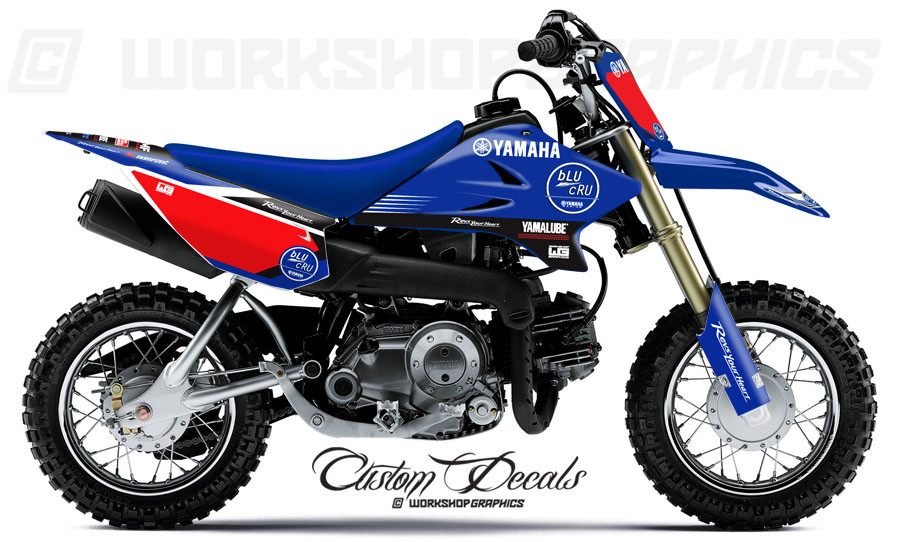 Blucru graphics kit ttr 50 for Yamaha ttr50 price
