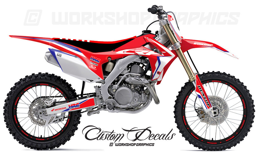 2017 honda crf250 custom graphics kit. Black Bedroom Furniture Sets. Home Design Ideas