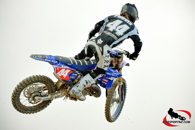 Maximus Purvis team rider for Altherm JCR Yamaha, was untouchable at Coolum, in Queensland, on Sunday