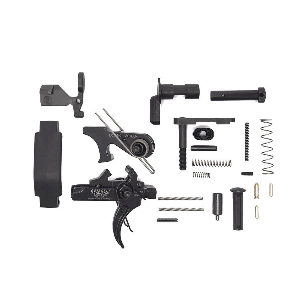 AR15 Enhanced Lower Receiver Parts Kit | Geissele S3G Trigger