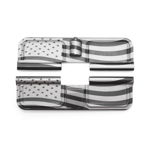 Dust Cover LH 'American Flag' Engraved