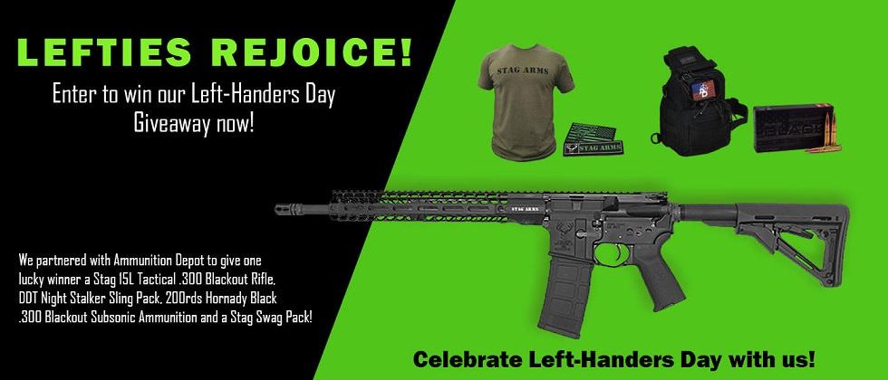 Left-Handers Day Giveaway