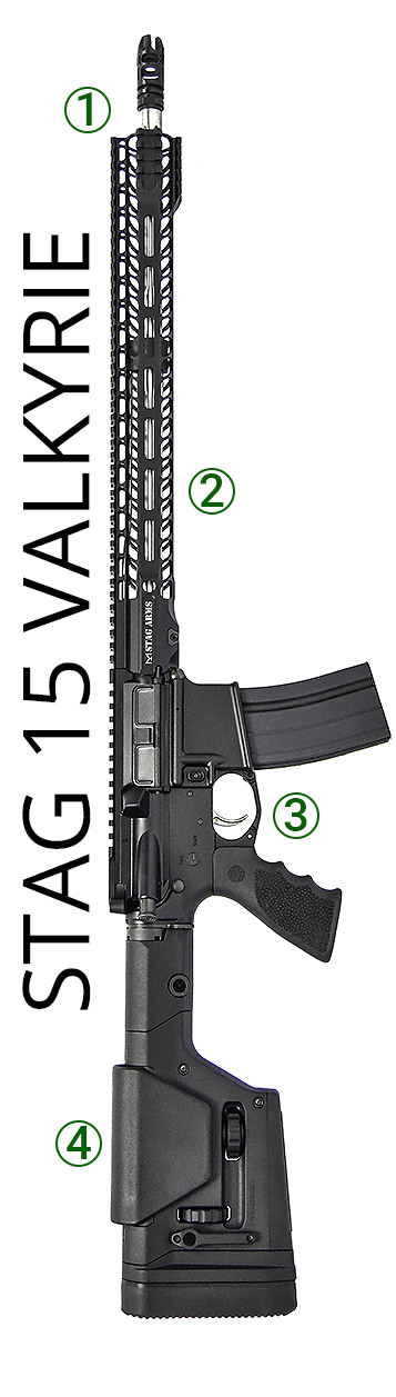 Stag 15 Valkyrie Rifle Features