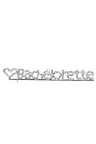Rhinestone Bachelorette Pin