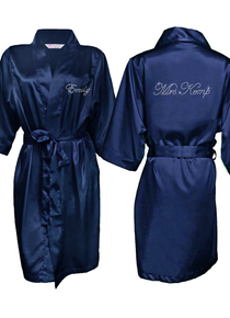 Robe Edwardian Mrs. Name on Back and Name on Front