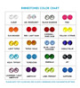 Rhinestone Color Chart for Ribbon