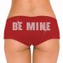 Be Mine Rhinestone Boyshort