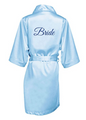 Bridal Party Robes with Glitter Print