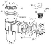 Pentair Skimmer Basket Handle # 85014700 1