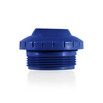 "Paramount 1 1/2"" Threaded Return with 1"" Opening - Blue # 004-252-3040-05"