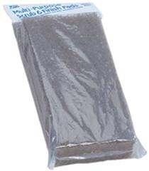 A&B Brown Mr. Scrubber Replacement Pad - Coarse # 8034