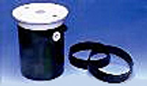 PoolMiser White Lid and Ring with Screws # RP-202
