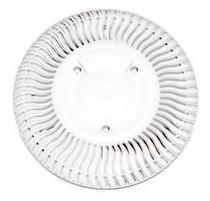 Paramount 10in. SDX Retro Drain Equalizer - White # 004-157-2212-01
