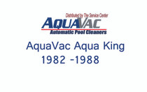 Aquavac Aqua King 1982-1988 Axle - Roller Support, Short # RCX2311S