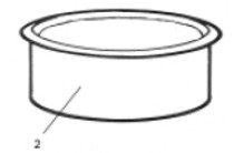 PoolMiser Tan Deck Ring # RP-203T